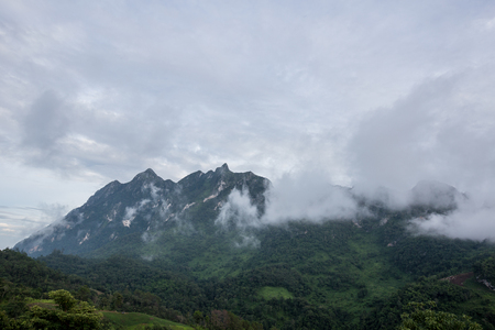 Doi Luang Mountain in Chiang Dao District of Chiang Mai Province, Thailand.