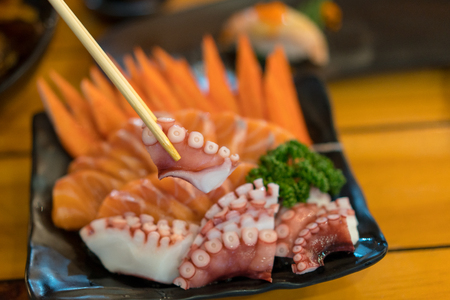 Japanese Cuisine - Sushi Set Фото со стока
