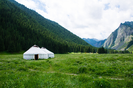 South Mountain Pasture with yurt
