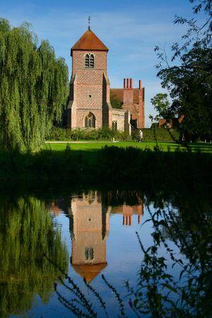 vicar: church reflection