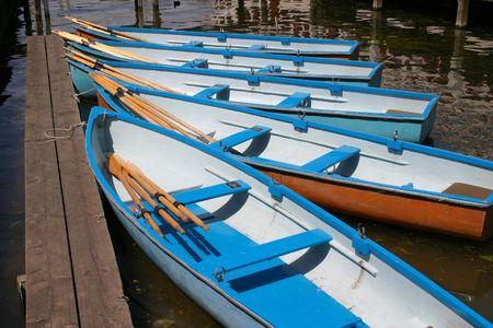 rowboats: rowboats Stock Photo