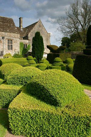 bush trimming: topiary