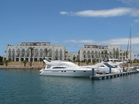 vilamoura: Beautiful view of the Vilamoura marina in Portugal