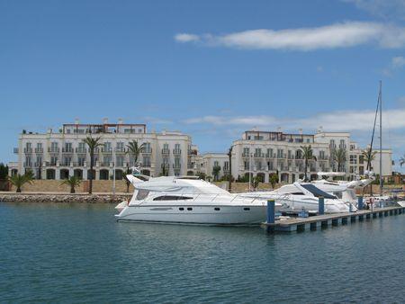 vilamoura: Beautiful view of the Vilamoura marina in Portugal