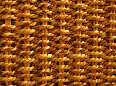 interlace: Background - Close-up of a basket pattern Stock Photo