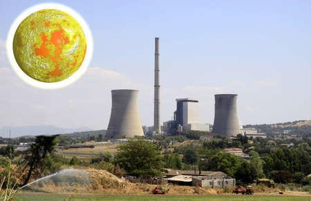 nuke plant: Estaci�n de energ�a nuclear