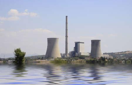 nuke plant: planta de energ�a nuclear de franc�s Editorial