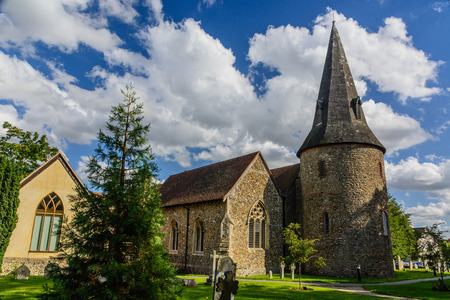 country church: English country church on a lovely sunny summers day