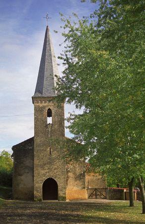 gascony: Sauboires Parish Church in SW France