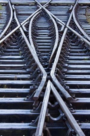 ferrocarril: L�neas de ferrocarril esmerilado