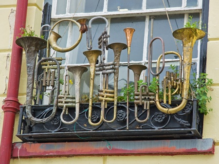 A musical window box improvisation photo