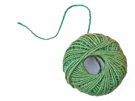 unravel: Ball of twine starting to unravel