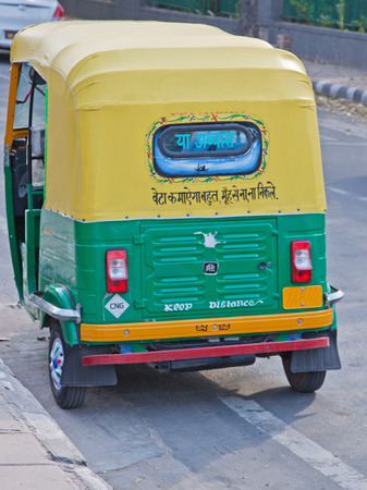autorick: Auto rickshaws, known as Tuk Tuks, dominate roads around Indian towns and cities