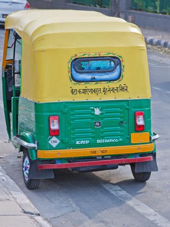 mototaxi: Auto rickshaws, known as Tuk Tuks, dominate roads around Indian towns and cities