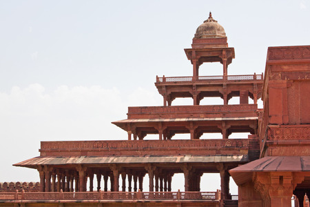 palatial: The abandoned 16th century city of Fatehpur Sikri, Rajasthan Stock Photo