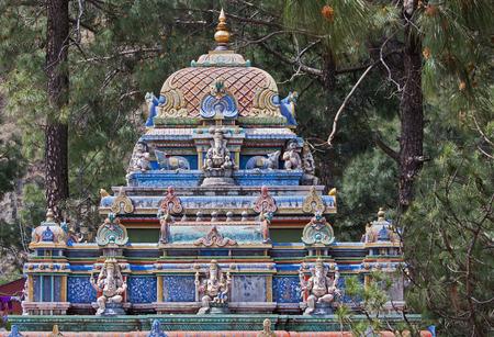 idolatry: Sculpture dedicated to Ganesh, the elephant god, at Shimla