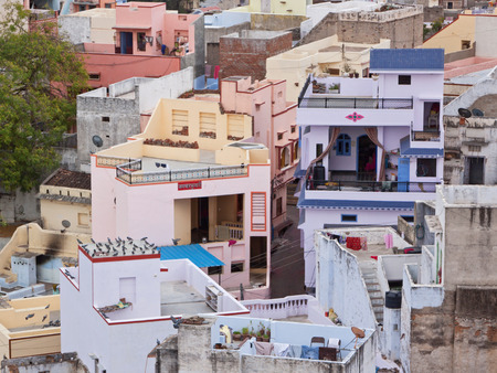 citizenry: Modern Indian urban housing in the town of Deogarh Rajasthan