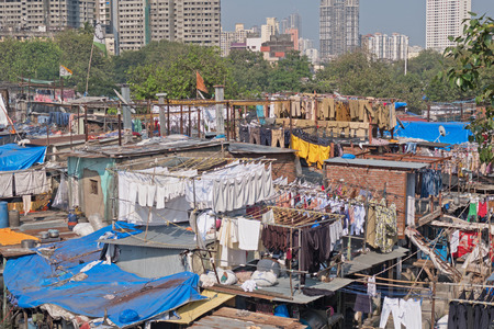 Dhobi Ghat, the open air laundry in southern Mumbai