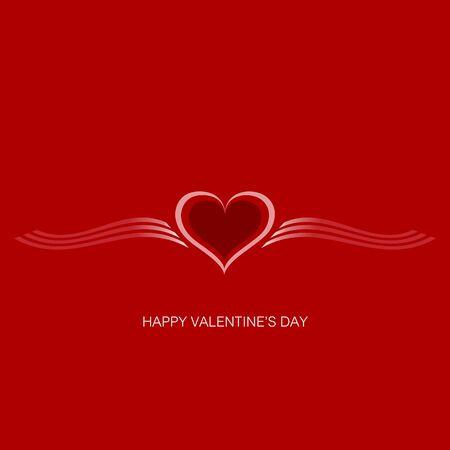 Valentine Gift card  Valentine s Day  background Stock Vector - 17448987