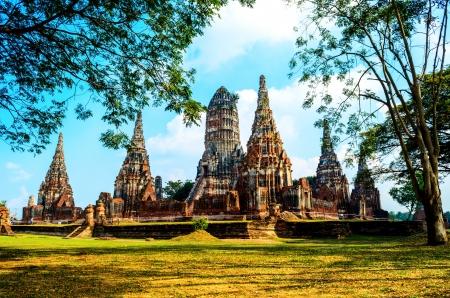 Temple in Ayutthaya Historical Park , Thailand Stock Photo - 17731794