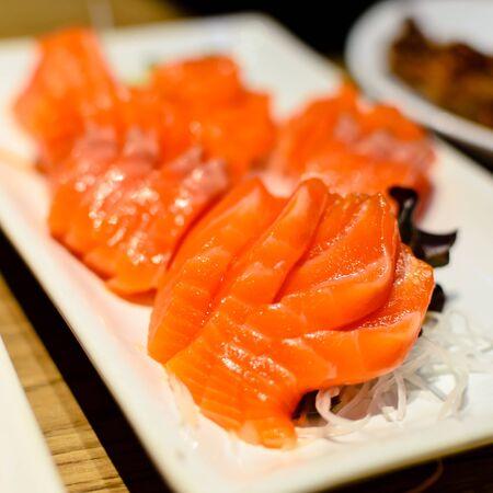 fresh sushi traditional japanese food Stock Photo - 18344835