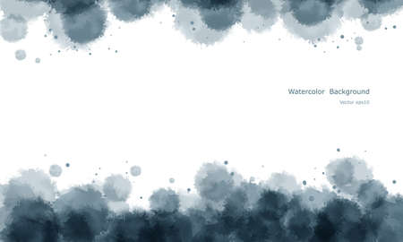 Abstract water color background vector, with space for the text   Vector