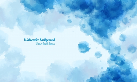 Abstract water color background vector, with space for the text  eps10 Vector