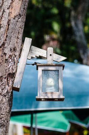 lamp post: Bella lampione nel parco Archivio Fotografico