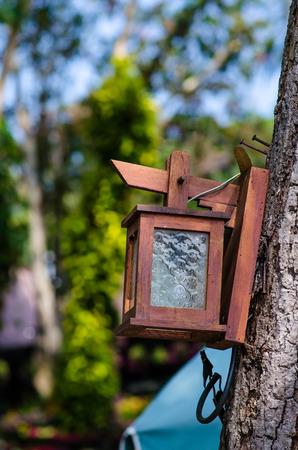 lamp post: Beautiful lamp post in the park