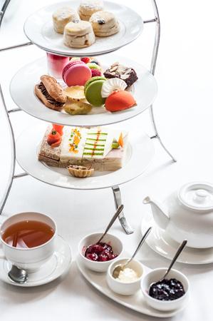 Inglese tradizionale tè del pomeriggio