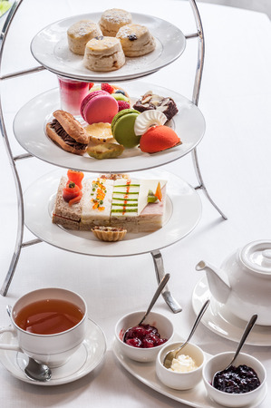 Traditional English afternoon tea Stock Photo - 41854049