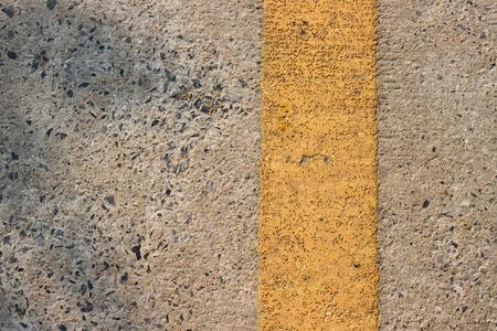roadway: Roadway divider yellow line