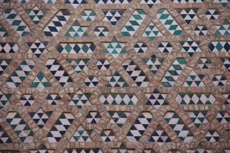 mudejar: Mudejar wall Stock Photo