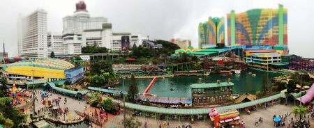 theme park: genting highlands outdoor theme park at malaysia
