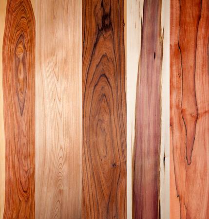 wood textures: texture of wooden veneer planks closeup