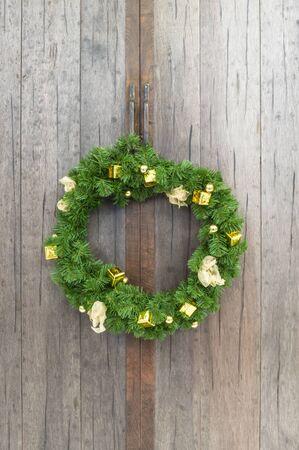 christmas wreaths: Christmas wreaths Stock Photo