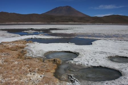 sud: Laguna on the Road of Jewels in Sud Lipez Altiplano