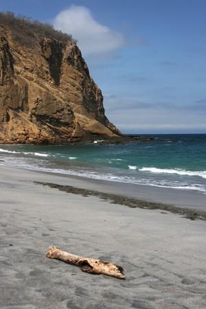 Beach of  Ecuador