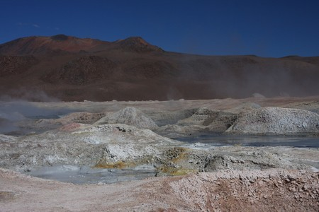 lipez: Sol de Manana Geyser on the Sud Lipez Altiplano