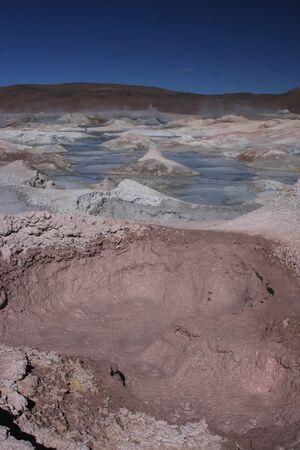 lipez: Sol de Manana Geyser on the Sud Lipez Altiplano