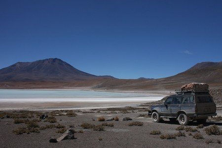 lipez: Laguna Hedionda on the Road of Jewels in Sud Lipez Altiplano