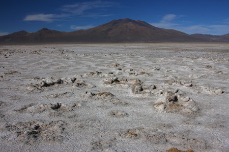 lipez: Salar de Chiguana in Sud Lipez Altiplano