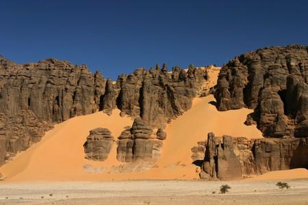 Hoggar Tassili, Sahara desert, South of Algeria