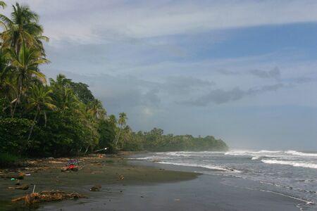 Storm on Costa Rica Atlantic Coast in Cahuita