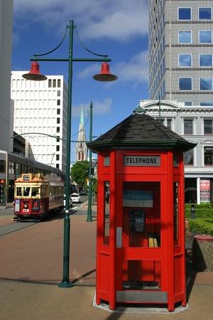 Christchurch center town