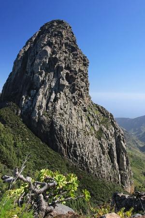 Roque de Agando Stock Photo
