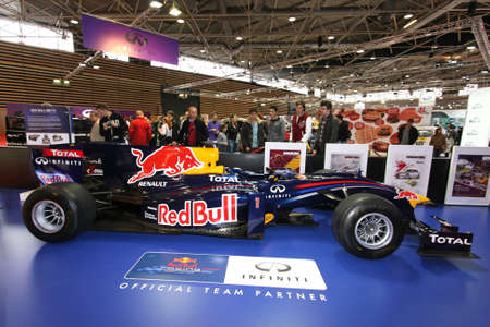 vettel: Formula One at Lyon Motor Show Editorial