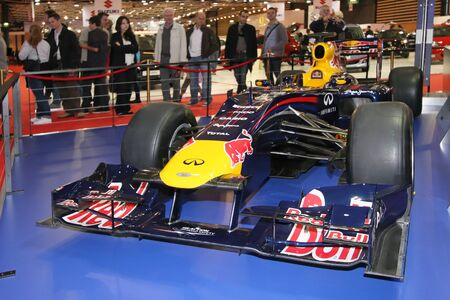 Formula One at Lyon Motor Show Stock Photo - 10808179