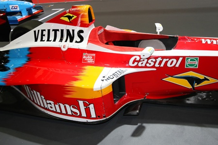 Old Formula One at Lyon Motor Show Stock Photo - 10808178