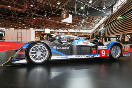peugeot victory at le mans 24 hours Stock Photo - 10808197